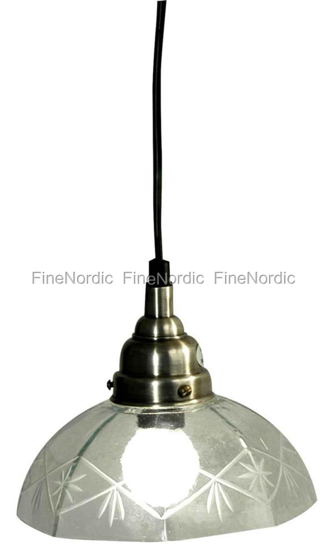 Udestående Ib Laursen Hengende lampe med bakken mønster - Stor ID96