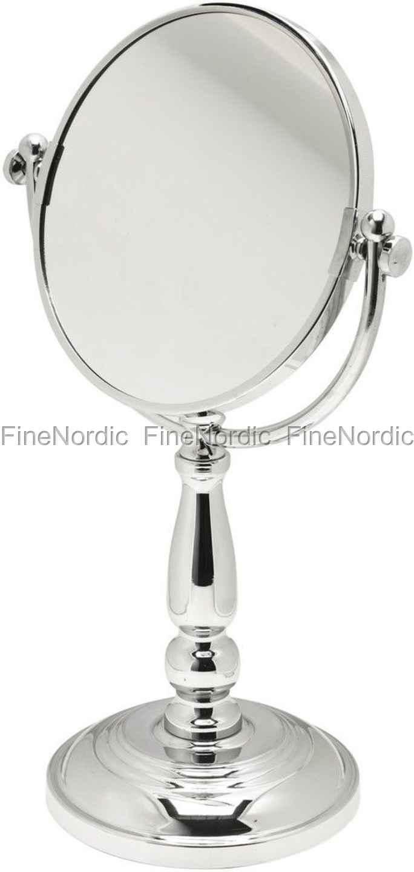 Wonderful Lene Bjerre Astrid Bath Speil med Forstørrelse - H 39 cm - Sølv XU-34