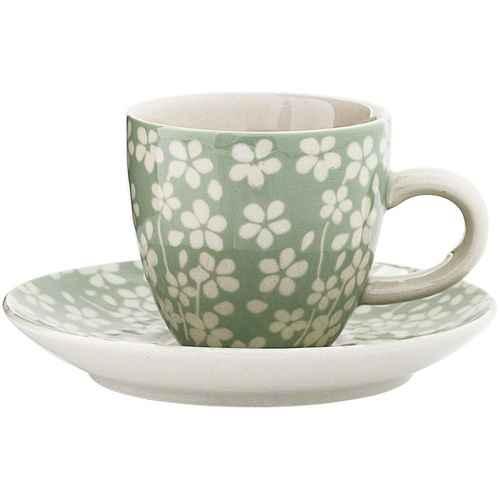 Bloomingville Espressokopp med Skål Seeke - Succulent ea7d0a1c5bca1