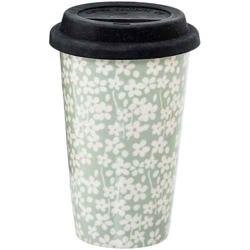 Bloomingville Termokrus Travel Mug Seeke med Lokk Succulent 7cd12257ec8f0