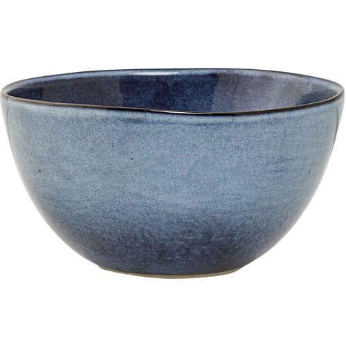 Bloomingville Sandrine Skål Blå Keramikk Ø 15 cm 136bd107f0d3b