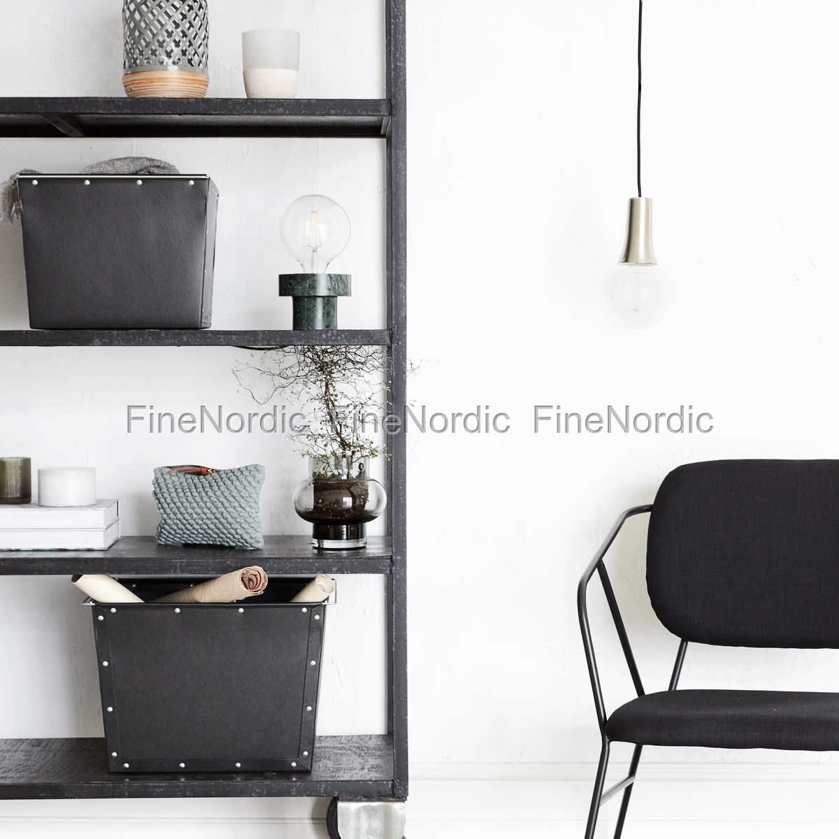 house doctor oppbevaringsbokse box 1 sett med 2 st rrelser. Black Bedroom Furniture Sets. Home Design Ideas