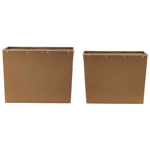 house doctor oppbevaringsbokse box 3 sett med 2 st rrelser svart. Black Bedroom Furniture Sets. Home Design Ideas