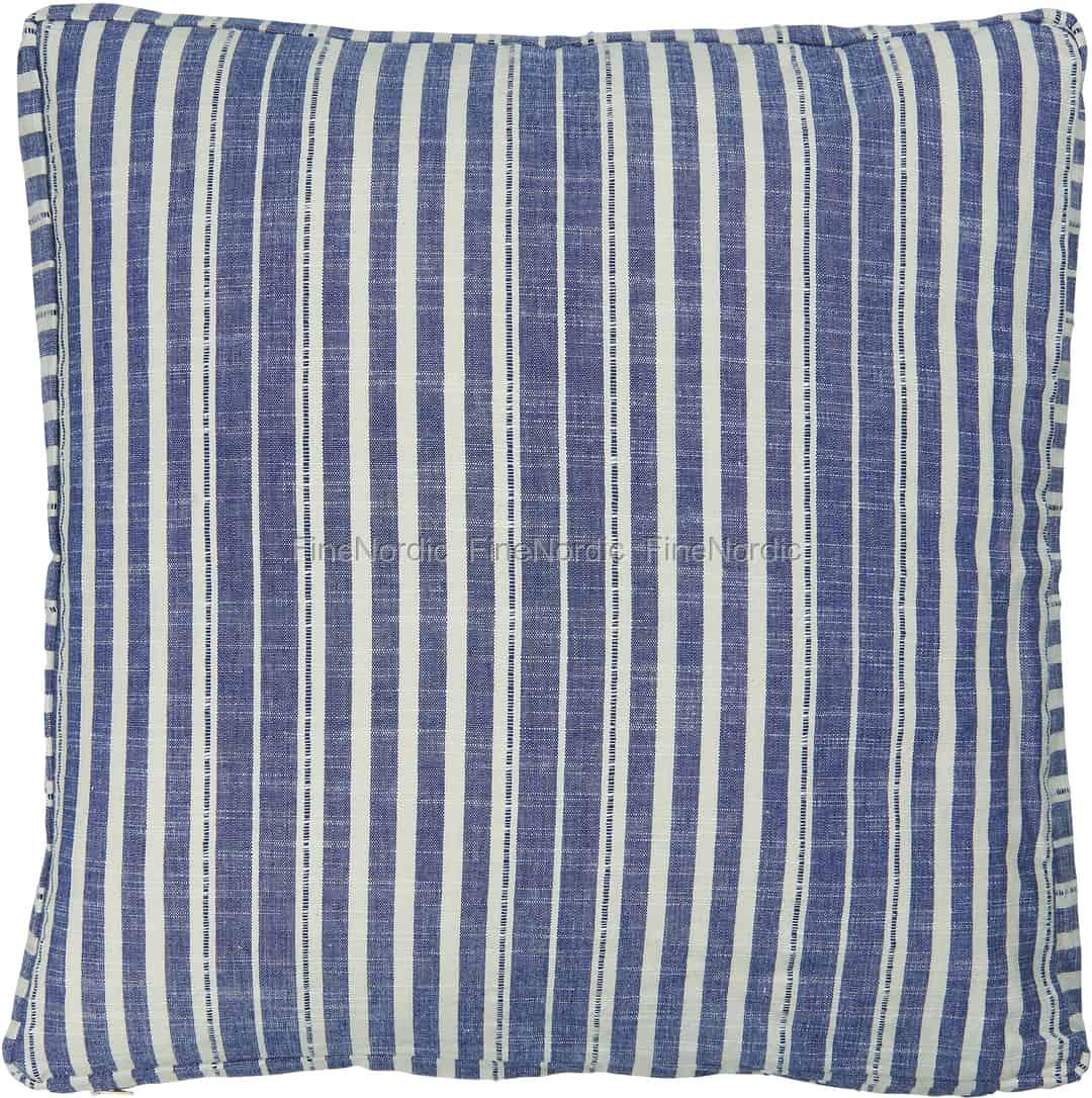 ib laursen boksputetrekk bl striper 45 x 45 cm. Black Bedroom Furniture Sets. Home Design Ideas