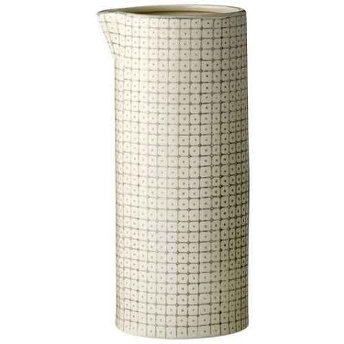 Bloomingville Carla Kanne med mønster - Grå. H 25 cm ... 7f5d37e1854b0